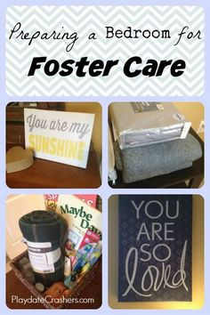 Preparing A Bedroom for Foster Care - Ideas for decorating and organizing!