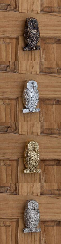 Door Knockers 180965: Signature Hardware Owl Brass Door Knocker -> BUY IT NOW ONLY: $49.95 on eBay!