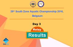 Day 3 Relay Results are Available for the 29th South Zone Aquatic Championship 2016, Belgaum  http://swimindia.in/meet-updates-of-29th-south-zone-aquatic-championship-2016-belgaum #SwimIndia