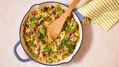 Leftover Easter ham becomes a quick and easy dinner in this jasmine fried rice recipe with eggs, snow peas, scallions, and ginger. Rice Recipes, Pork Recipes, Asian Recipes, Dinner Recipes, Cooking Recipes, Ethnic Recipes, Oriental Recipes, Cooking Blogs, Chicken Recipes