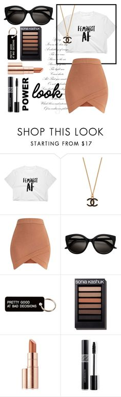 """""""Power Look"""" by traveler1028 ❤ liked on Polyvore featuring Various Projects, Estée Lauder and Christian Dior"""