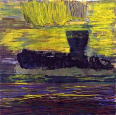 Per Kirkeby's Fram im Garten 2006