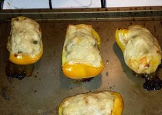 low carb stuff peppers tuna melts Recipe -  How are you today? How about making low carb stuff peppers tuna melts?