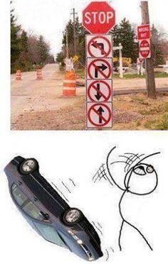 No way out!!