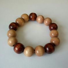 FREE with any bundle purchase! Stretch wooden beaded bracelet.  $4 if purchased separately.  Comment below to claim as your freebie! Jewelry Bracelets