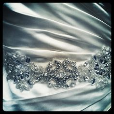 Weddings Beaded sashbridal sash crystal by DreamcatcherStudio, $219.00