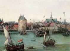 Dutch sailing ships 17th century