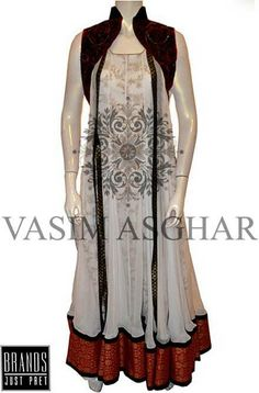 This is very stylish and fashionable women wear collection in which women long shirts, tunics and prêt kameez are available. All the stuff mentioned have beautiful embroidery work on...More at http://www.newfashioncorner.com/women-casual-winter-dresses-by-vasim-asghar-2014/