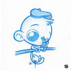 Monkey Babysitting   Flickr - Photo Sharing!