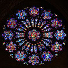 south rose window National Cathedral by George Reader: Thank you for 300,000 views, via Flickr