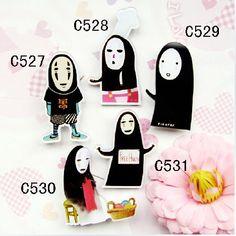 Pins/spillette sagomate de La Città Incantata! Ordinabili da qui--> http://www.kijiji.it/annunci/altro-abbigliamento/roma-annunci-roma/pins-la-citta-incantata-miyazaki-manga-japan/72372584