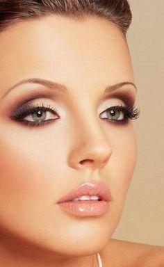 eyeshadow techniques | brown eyeshadow dark eyeshadow red eyeshadow black eyeliner lipgloss ...