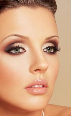 eyeshadow techniques | brown eyeshadow dark eyeshadow red eyeshadow black eyeliner lipgloss ...