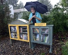 Little Free Libraries are making appearances at homes, businesses, schools in Colorado.