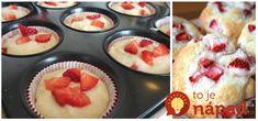 Tieto muffinky si môžete pokojne dať aj vtedy, keď chudnete. Sú výborné, dodajú vám energiu, ale nepriberiete z nich. Perfektný recept! Gluten Free Sweets, Muffin Top, Banana Bread, Panna Cotta, Cheesecake, Food And Drink, Health Fitness, Pudding, Yummy Food