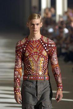 Alexander McQueen S/S 2005 Menswear