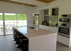 State of the art kitchen and entertaining island