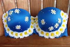 34C  Whoopsie Daisies  Convertible Rave Bra by theRoyalJelly, $67.00