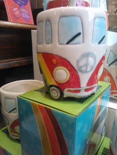 rainbow vw kombi mug!! OMG. I need this!!