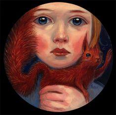 ardillas by kelly vivanco  redsquirrell