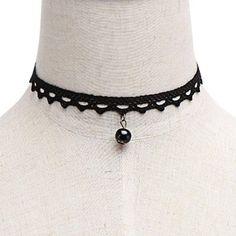 Yoins Hollow Out Lace Choker Necklace