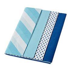 FRAMSTÄLLA Seidenpapier, versch. Muster blau - IKEA