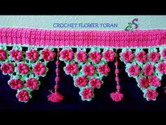 CROCHET TORAN PATTERN | FLOWER TORAN - YouTube