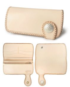 Samurai Craft Rakuten Global Market: A long wallet saddle leather natural double stitch leather wallet is handmade Leather Wallet Pattern, Handmade Leather Wallet, Leather Card Wallet, Leather Gifts, Stitching Leather, Saddle Leather, Leather Tooling, Leather Purses, Leather Wallets