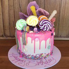 Candy Land Cake  #sweetalyers_ #sweetlayers #cake #candyland #candycrush…