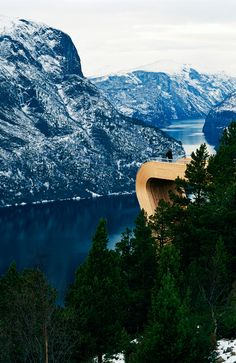 Aurland Lookout, Norway