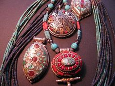 Gorgeous Jewellery from Bali and Tibet | Textile Traders