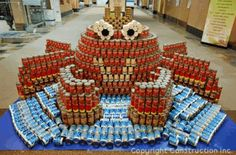 Canstruction: Amazing Sculptures Made From Canned Goods Canstruction – Inhabitat - Green Design, Innovation, Architecture, Green Building