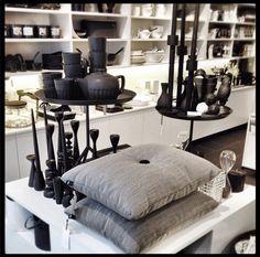 a Hay Ottoman, Shopping, Furniture, Women, Home Decor, Grey Cushions, Decoration Home, Women's, Room Decor