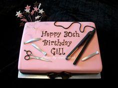 "Album ""Birthday Cake Photos"" — Photoset 28200 of 203186 Birthday Cale, 15th Birthday Cakes, Birthday Cake Girls, Birthday Parties, Hair Stylist Cake, Cosmetology Cake, Hairdresser Cake, Realistic Cakes, Cake Decorating For Beginners"