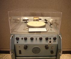 McCurdy Transcription Turntable, Idler driven turntable made in Toronto, Ontario in the 1960s.