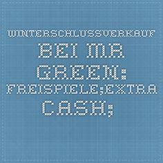 Winterschlussverkauf bei Mr Green: Freispiele;extra Cash;.... !! http://www.spielothekenspiegel-automatenspiele-online.de/news4you