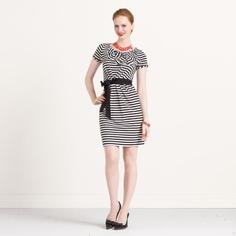 Kate Spade Striped Jersey Jilly Dress