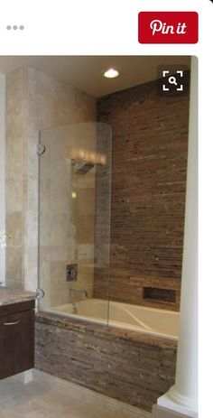 tub an shower conversion ideas | 19 Photos of the Elegant Corner ...