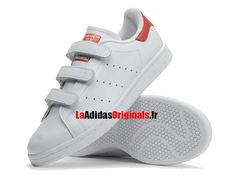 adidas Stan Smith CF S80041 Couleur: Blanc Rouge