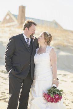 Shifting Sands at Dam Neck wedding photography   Bride & groom