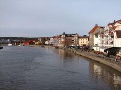 Gamlebyen - river in...