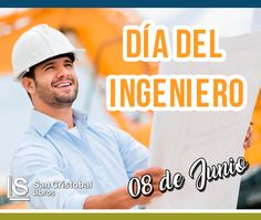 Feliz Día del Ingeniero en Perú! Hoy 8 de Junio celebramos en Perú el Día del Ingeniero. Felicidades a todos aquellos que ejercen una actividad profesional tan importante por medio de la solución de problemas tecnológicos científicos ambientales y de infraestructura según sus diversas especialidades. #Ingeniero #Ingenieria #FelizDia #Civil #Mecanica #Sistemas #Electronica #Alimentaria #Ambiental #Geologia #Industrial #Pesquera