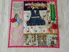 Busy Lady's Sewing Room  Fidget Quilt Tactile  by EndearingDignite, $40.00
