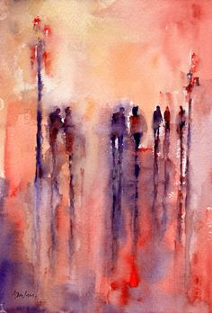 NOCTURN Watercolour by Paul Taylor