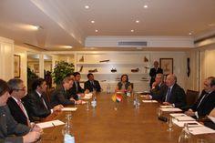 El presidente de la Cámara de Diputados de Paraguay se reúne con el Secretario General de CEOE