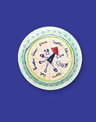 """Circle of Kindness spinner - could alter to be a """"mitzvah spinner"""""""