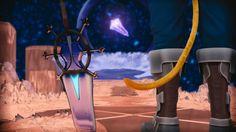 Final Fantasy 9 - Legendary Weapon, Julian Gränke on ArtStation at https://www.artstation.com/artwork/reXlG