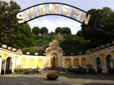 Skansen Living Museum and zoo Stockholm Sweden