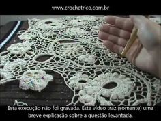 Crochê Irlandês - Irish Crochet