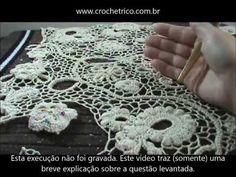 Crochê Irlandês - Como costurar com redes? - YouTube